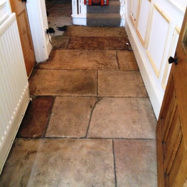 Sandstone Floor Grange Over Sands After