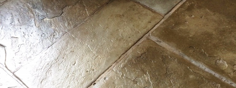 Flagstone floor maintained in Ambleside, Cumbria