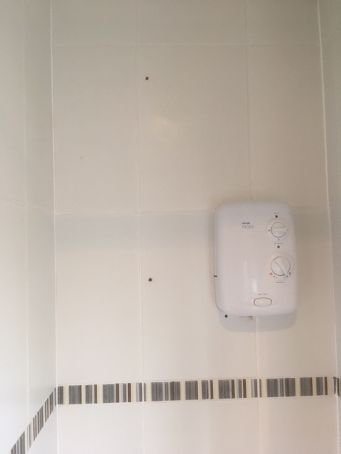 Shower Cubicle in Grange-over-Sands After Cleaning