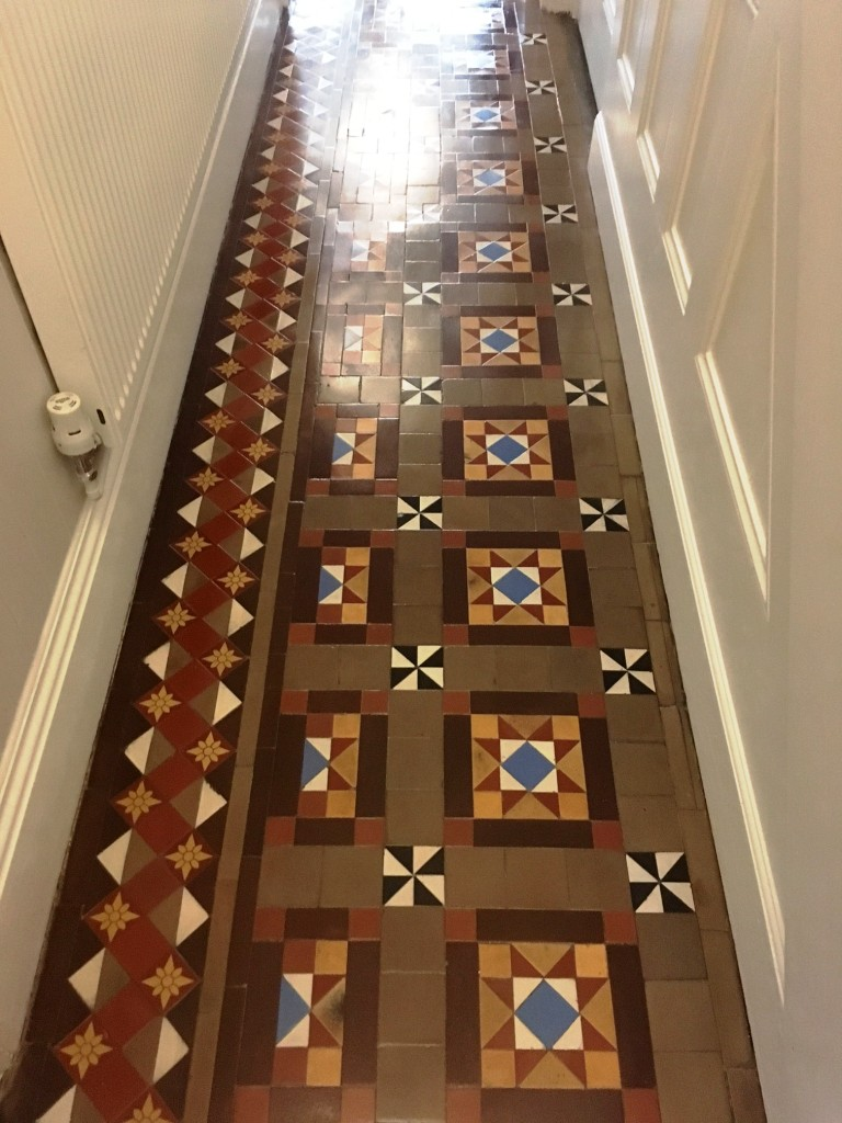 Victorian Hallway After Cleaning and Sealing in Ulverston