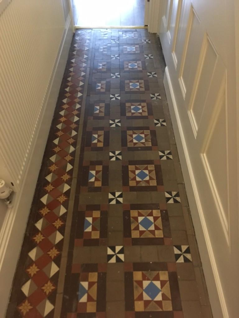 Victorian Hallway Before Cleaning in Ulverston