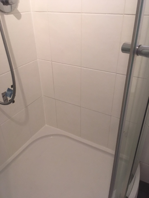 Shower Cubicle After Restoration Kendal