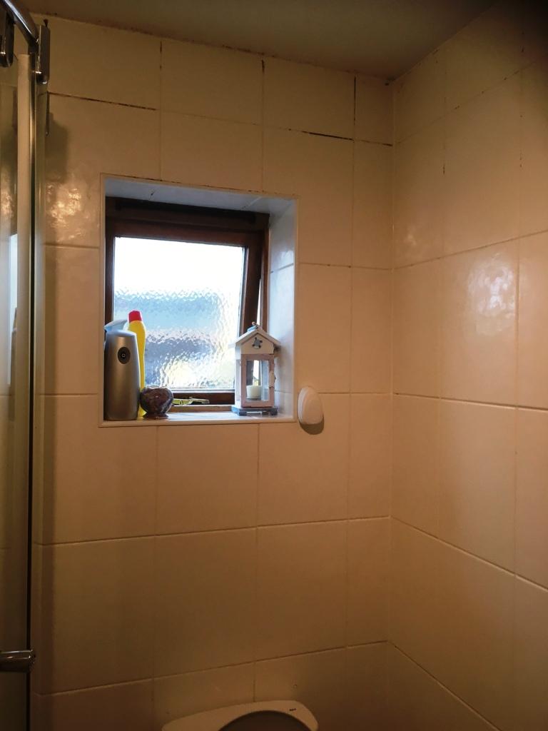 Shower Room Before Restoration Kendal