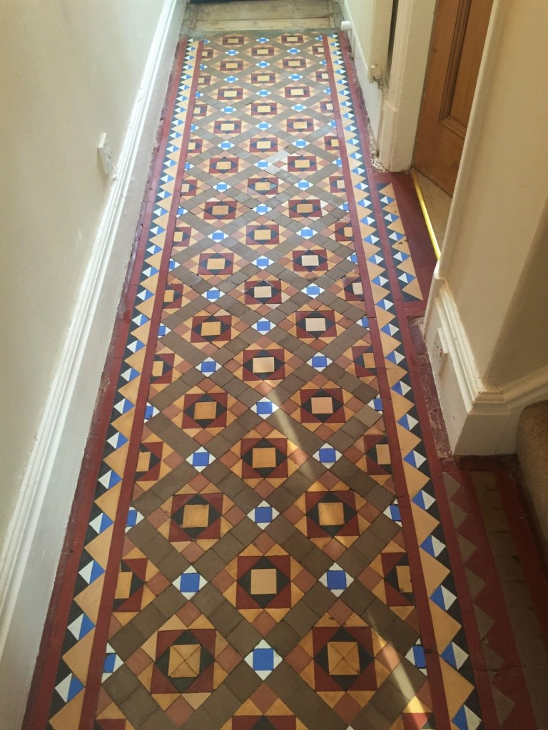 Victorian Tiled Hallway After Full Restoration in Kendal