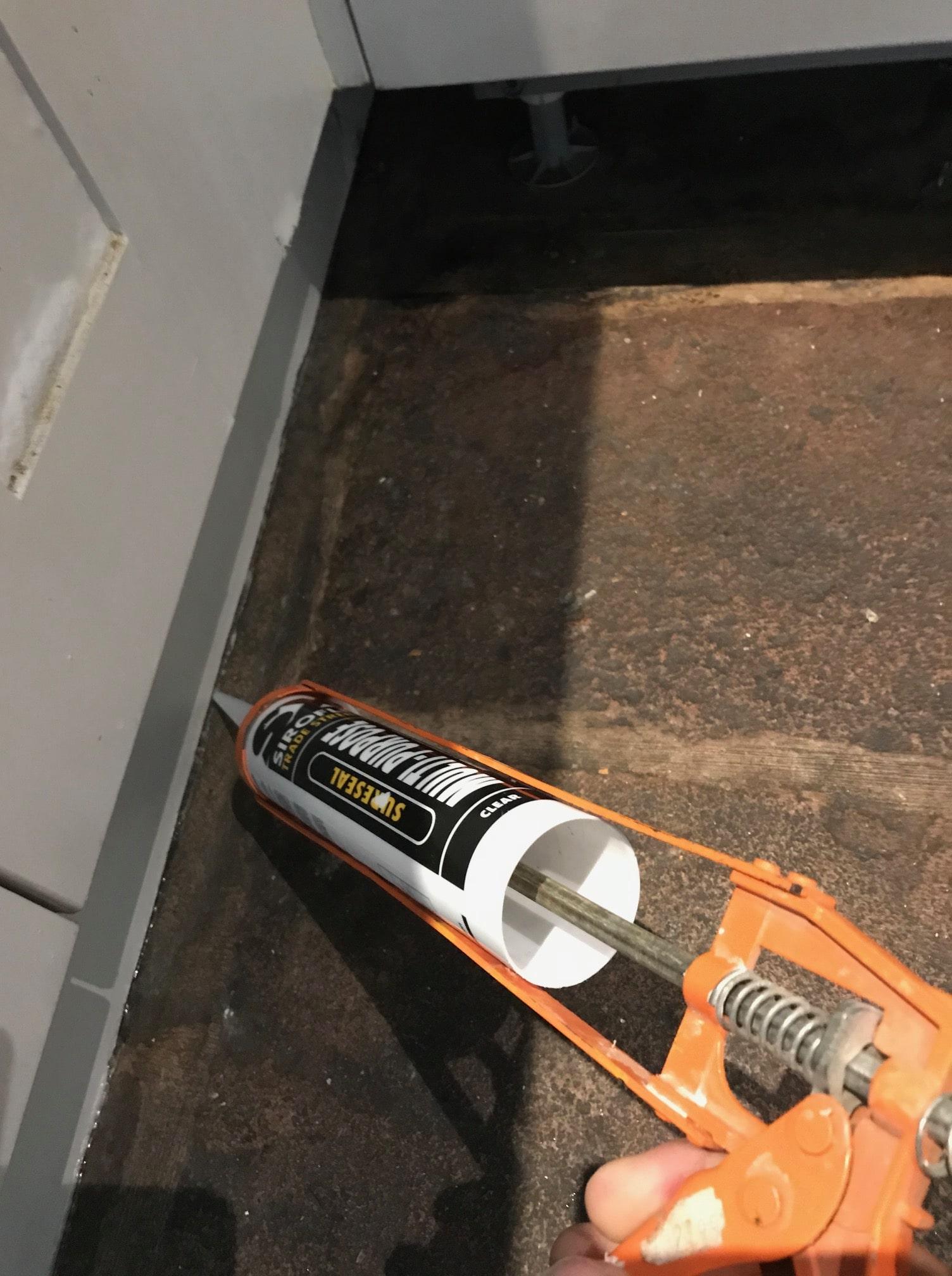 Red Sandstone Floor During Renovation Kirkby Lonsdale
