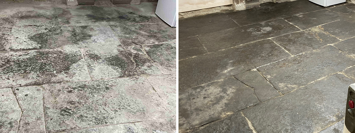 Flagstone Basement Floor Renovated in Kendal